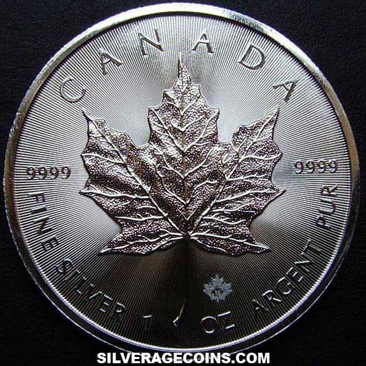 2015 Canadian 5 Dollars 1 Ounce Silver Maple Leaf
