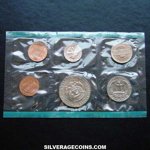 1971 (6) US Uncirculated Mint Set