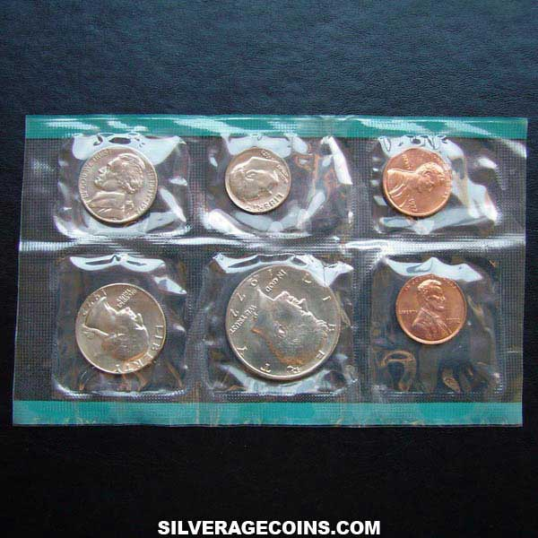 1972 (6) US Uncirculated Mint Set