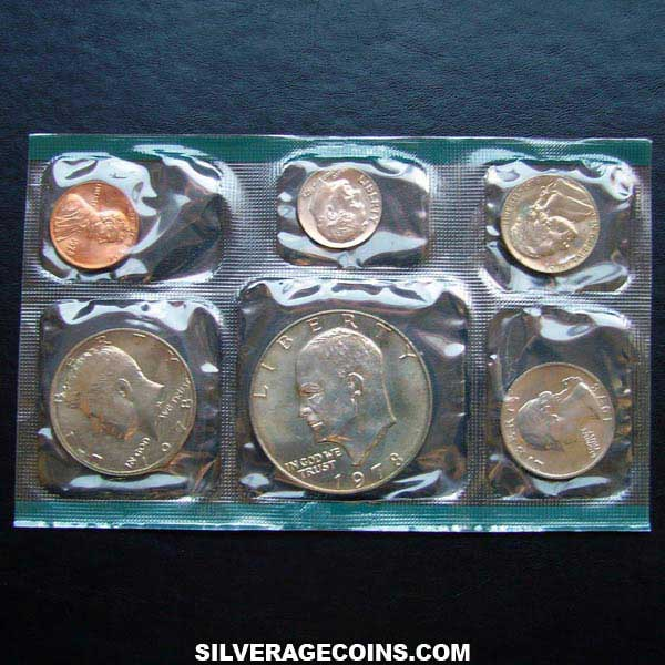 1978 (6) US Uncirculated Mint Set