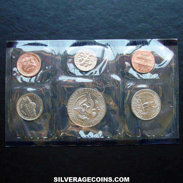 1985P (5) US Uncirculated Mint Set