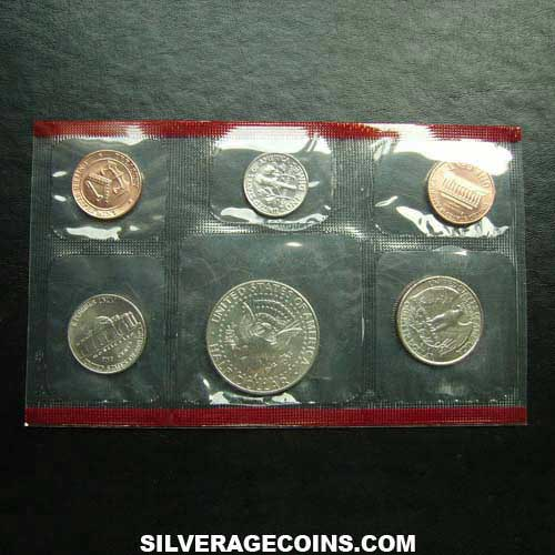 1993D (5) US Uncirculated Mint Set