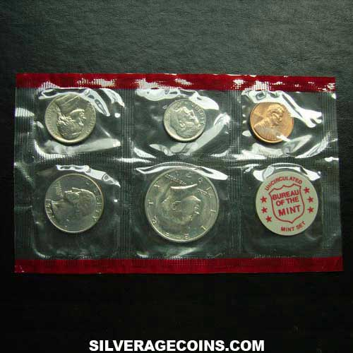 1971D (5) US Uncirculated Mint Set