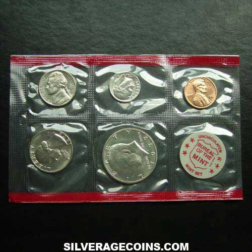 1972D (5) US Uncirculated Mint Set