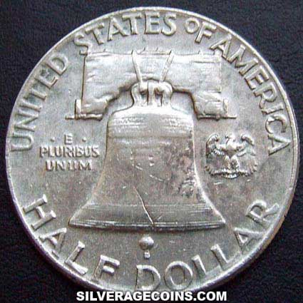 1949 United States Franklin Silver Half Dollar