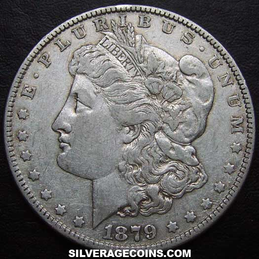 1879 United States Morgan Silver Dollar