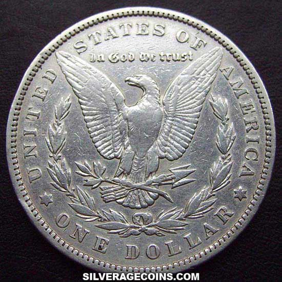 1896 United States Morgan Silver Dollar