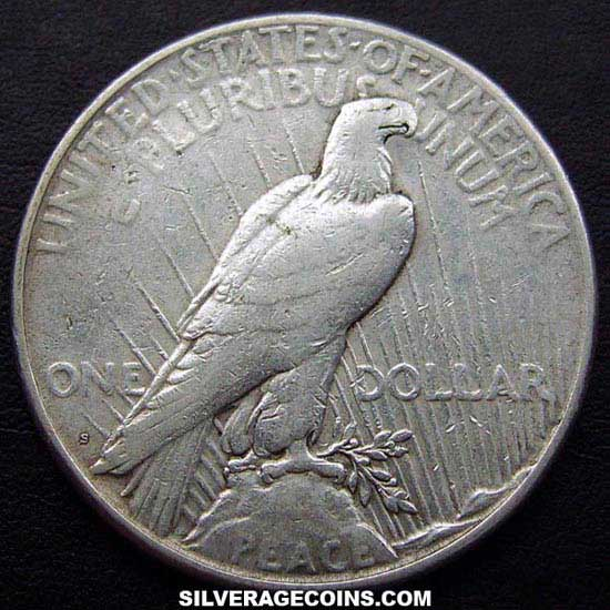 1923S United States Peace Silver Dollar