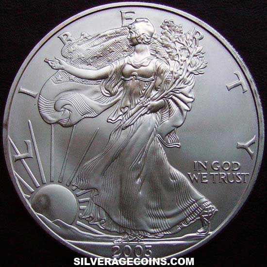 2003 United States Dollar 1 Ounce Silver Eagle