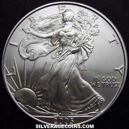 2005 United States Dollar 1 Ounce Silver Eagle