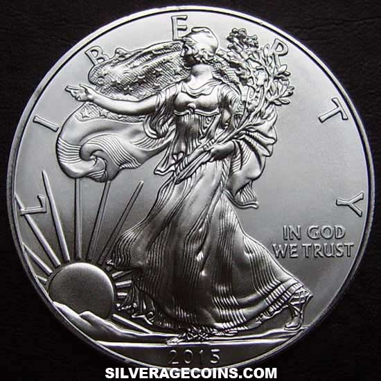 2015 United States Dollar 1 Ounce Silver Eagle