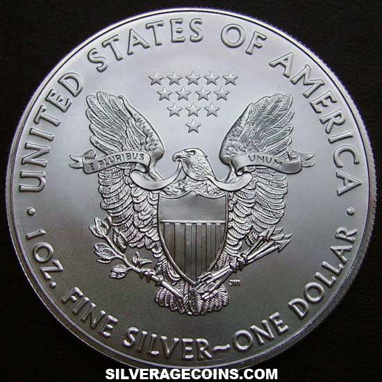 2019 United States Dollar 1 Ounce Silver Eagle