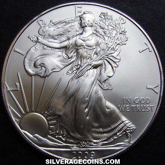 2009 United States Dollar 1 Ounce Silver Eagle