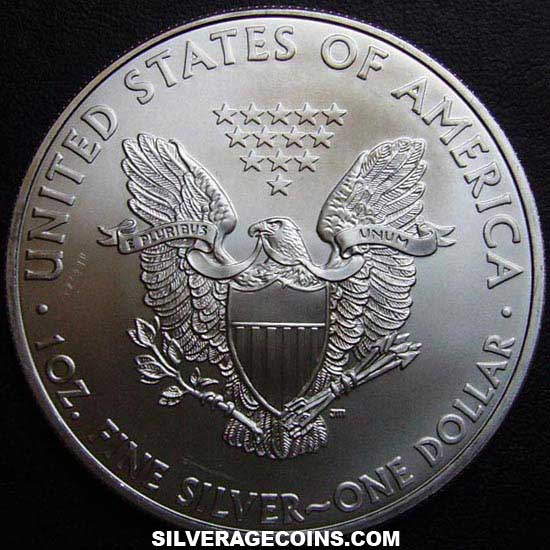 2010 United States Dollar 1 Ounce Silver Eagle