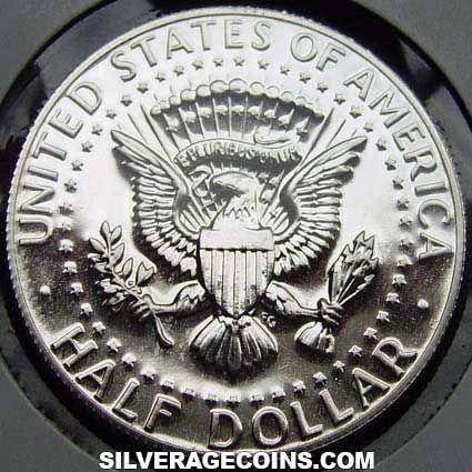 1969S Proof United States Kennedy Silver-Clad Half Dollar