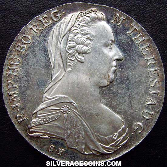 1780sf Proof Maria Theresa Austrian Silver Thaler