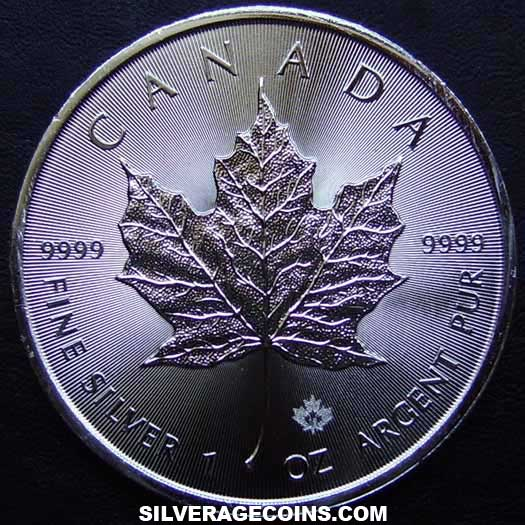 2016 Canadian 5 Dollars 1 Ounce Silver Maple Leaf