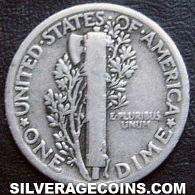 1930 United States Silver Mercury Dime 10 Cents