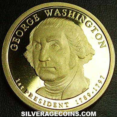 2007S Proof United States Dollar (George Washington)