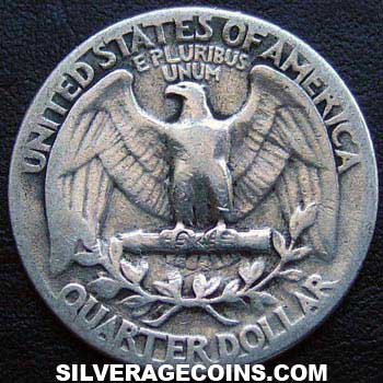 1936 United States Washington Silver Quarter
