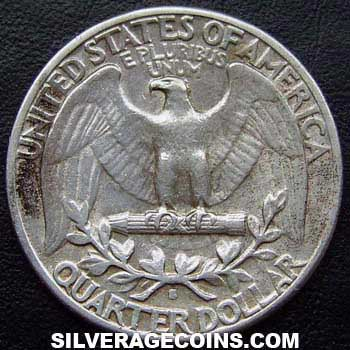 1940S United States Washington Silver Quarter