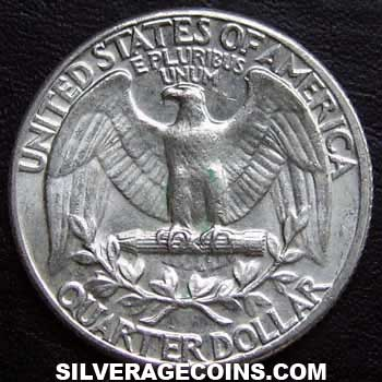1962 United States Washington Silver Quarter