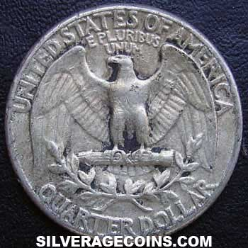 1963 United States Washington Silver Quarter