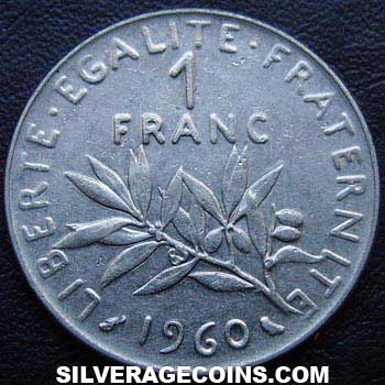 1960 French New Franc