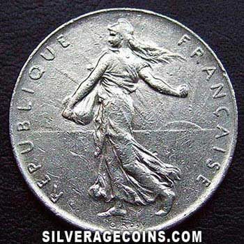 1974 French New Franc Silveragecoins