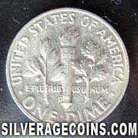 1964D United States Silver Roosevelt Dime 10 Cents