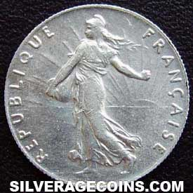 1900 French Silver 50 Cents
