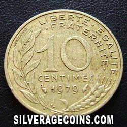 1979 French 10 New Cents