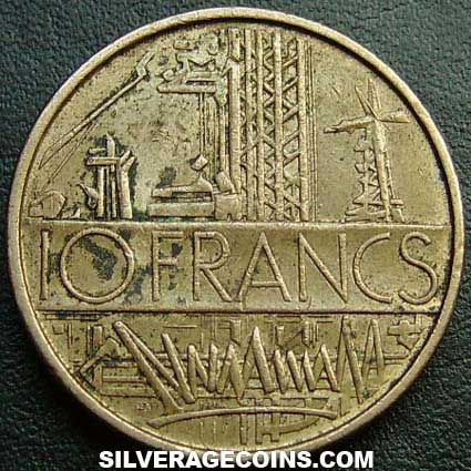1974 10 New French Francs