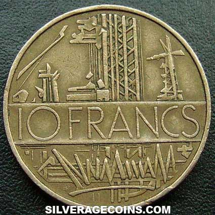 1976 10 New French Francs