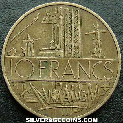 1979 10 New French Francs