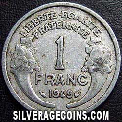 1949 French Aluminium Franc