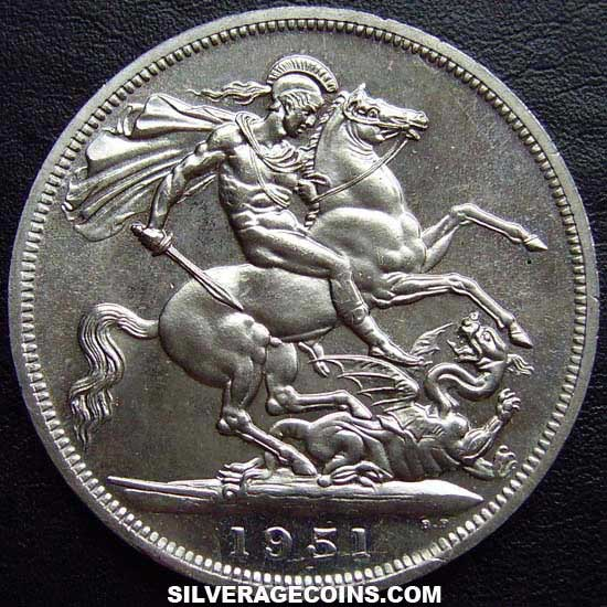 1951 P L George Vi British Crown Festival Of Britain