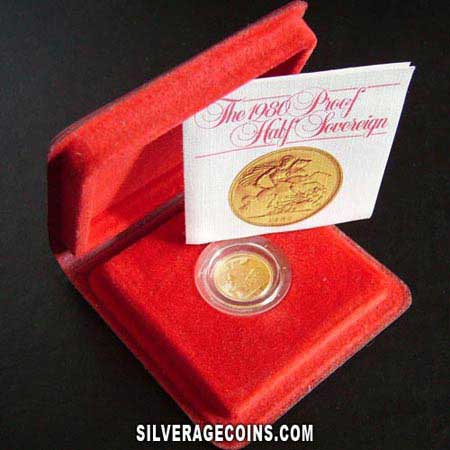 Elizabeth II British Gold Half Sovereign