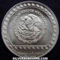 1992 Mexican 25 Pesos Silver 1/4 Ounce (Eagle warrior)