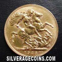 1928 George V South African Gold Sovereign