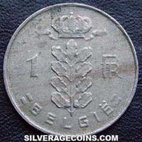1968 Belgian Franc (Dutch, coin alignment)