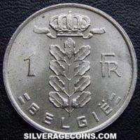 1979 Belgian Franc (Dutch, coin alignment)