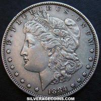 1884 United States Morgan Silver Dollar