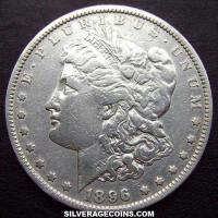 "1896 United States ""Morgan"" Silver Dollar"