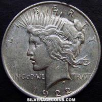 1922 United States Peace Silver Dollar