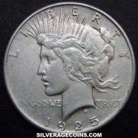 1925 United States Peace Silver Dollar