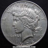 1926S United States Peace Silver Dollar