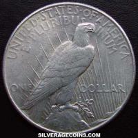 1935 United States Peace Silver Dollar
