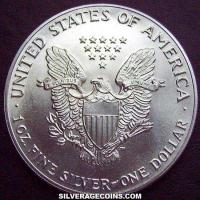 1988 United States Dollar 1 Ounce Silver Eagle