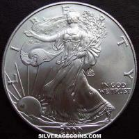 2000 United States Dollar 1 Ounce Silver Eagle